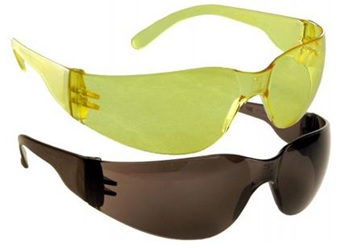 Radians Explorer Safety Shooting Glasses-Yellow