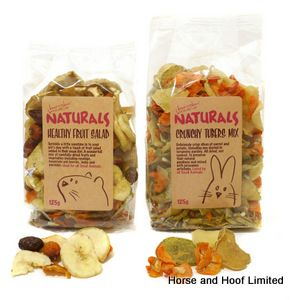Rosewood Natural Healthy Fruit Salad For Small Animals 125g