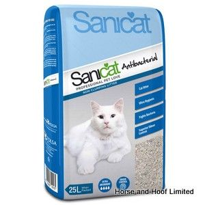 Sanicat Antibacterial Cat Litter 25L