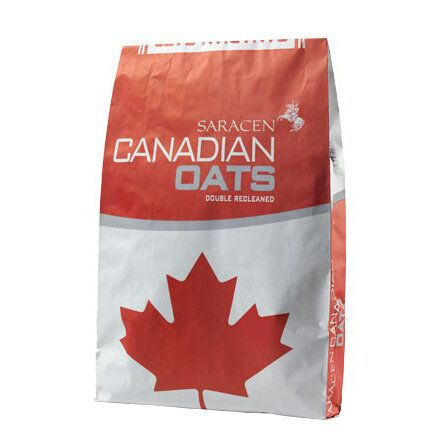 Saracen Canadian Oats Bruised Horse Feed 20kg