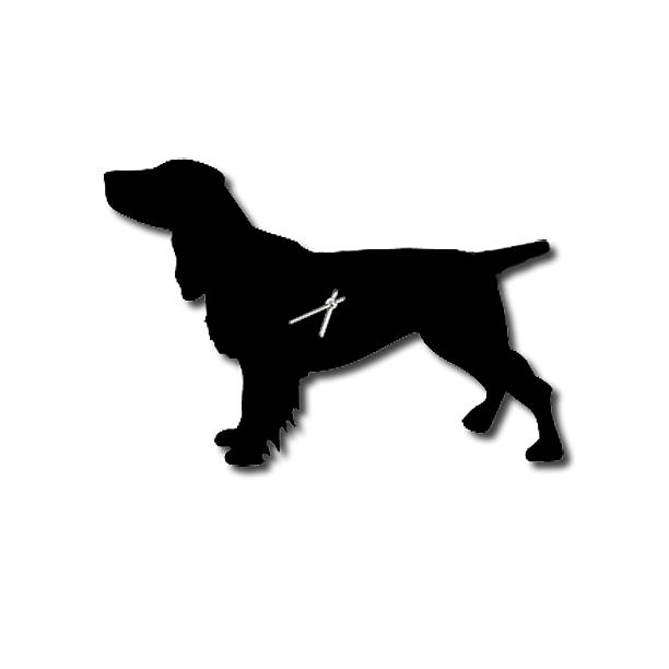 SPANIEL CLOCK WITH WAGGING TAIL