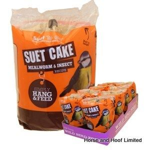 Suet To Go Insect Suet Cake & Hanger Bird Food 8 x 350g