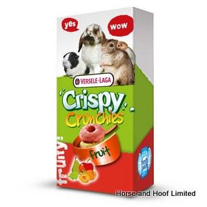 Versele Laga Crispy Fruit Crunchies For Small Animals 6 x 75g