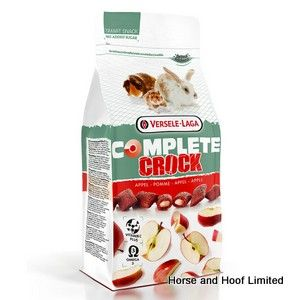 Versele Laga Crock Complete Apple Snacks For Small Animals  9 x 50g