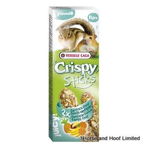 Versele Laga Exotic Fruit Crispy Sticks For Hamsters & Squirrels 8 x 110g