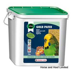 Versele Laga Orlux Gold Patee Feed For Small Parakeets 5kg